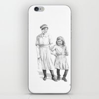 sisters iPhone & iPod Skins featuring Sisters by Ursula Rodgers