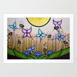 Kokum's Garden Art Print