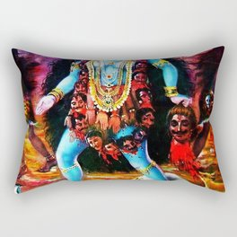 Hindu Kali 19 Rectangular Pillow