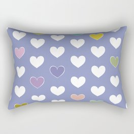 Hearts pattern Rectangular Pillow