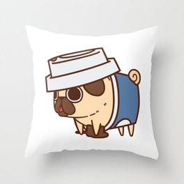 Puglie Coffee Throw Pillow