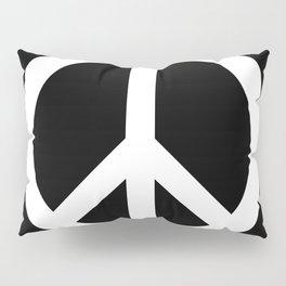 Peace (White & Black) Pillow Sham