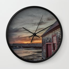 Lanes cove Sunset 5-5-18 Wall Clock