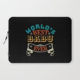 WORLDS BEST BABU EVER Laptop Sleeve