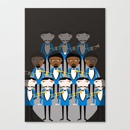 And all that jazz Canvas Print
