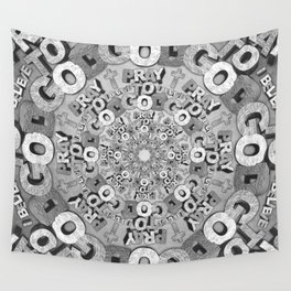 Pray To God Wall Tapestry