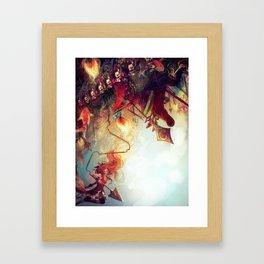 Kyoko + Ophelia Framed Art Print