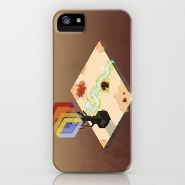 In the Rays of a Cloudless Sun iPhone Case