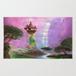 The Mystical Tower Rug