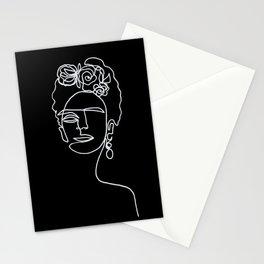 Frida Kahlo BW Stationery Cards
