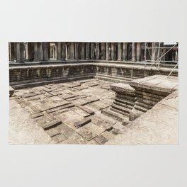Angkor Wat Pool, Cambodia Rug