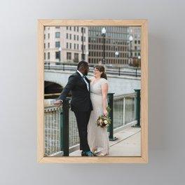 Wedding day Framed Mini Art Print