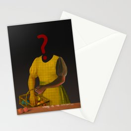 the truth is dead · ? Die Frau mit den Bananen Stationery Cards