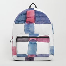 the daily creative project: abstract - the crap on the wall Backpack