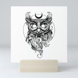 SAPIENS NOCTUA Mini Art Print