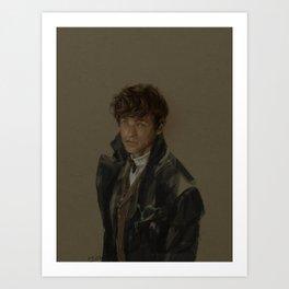 Pickett Art Print