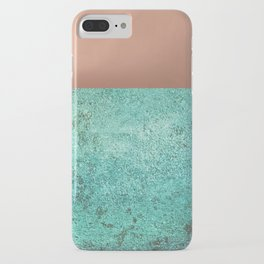 NEW EMOTIONS - ROSE & TEAL iPhone Case