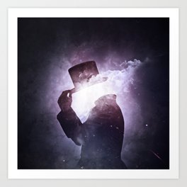 Interstellar +1 ~Saludo Art Print