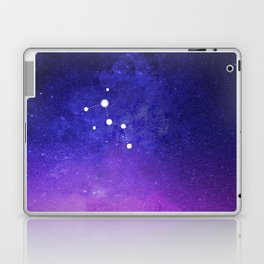 Cassiopeia Constellation with the Milky Way Laptop & iPad Skin