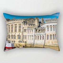 York City Guildhall in the spring sunshine. Rectangular Pillow