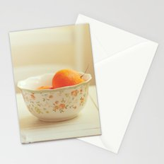 Tasty afternoon Stationery Cards