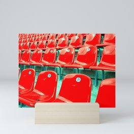 take a seat Mini Art Print