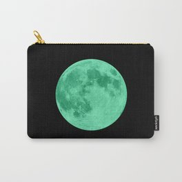 MOON GLOW GREEN Carry-All Pouch
