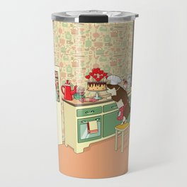 Dig in the BAKING Queen Travel Mug