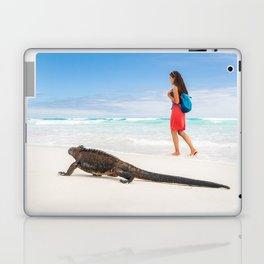 Galapagos wildlife beach Laptop & iPad Skin