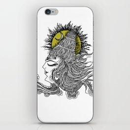 Shiva Moon iPhone Skin