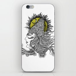 Shiva Moon iPhone Skin