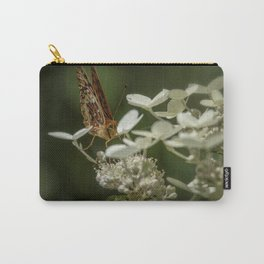 Butterfly on a Hydrangea Carry-All Pouch