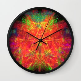 Zest Crest II Wall Clock