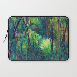 Paul Cezanne Interior of a Forest Laptop Sleeve