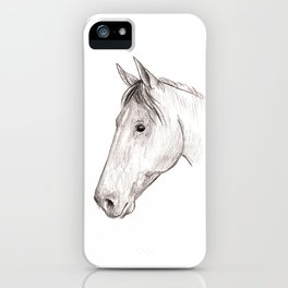 Horse 01 iPhone Case