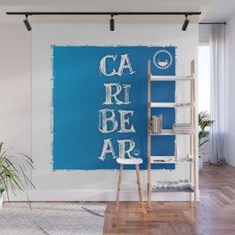 """""""Caribear"""" Wall Mural"""