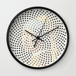 Optical Illusions - Famous Work of Art 3 Wall Clock