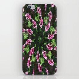 Rosas Moradas 2 Kaleidoscope 5 iPhone Skin