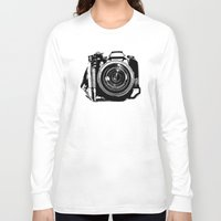 camera Long Sleeve T-shirts featuring Camera by Luisa Mähringer
