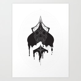 Ace of Spades Art Print