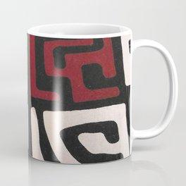 African Mudcloth Print Coffee Mug