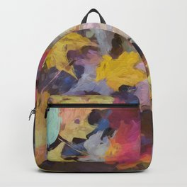 Carpet of Autumn Leaves Painting Style Backpack