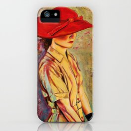 Red Hat iPhone Case