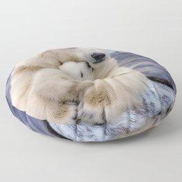 Polar Bear Love Floor Pillow