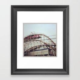The Cyclone Framed Art Print