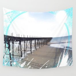 Victorian Pier - paint Wall Tapestry