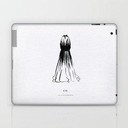 Little Black Halter Dress Laptop & iPad Skin