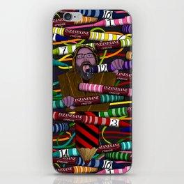 Inzanesane Crayon Stuffffs iPhone Skin