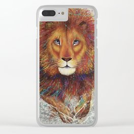 Pounce Clear iPhone Case