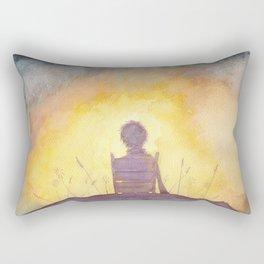 47 Sunsets Rectangular Pillow